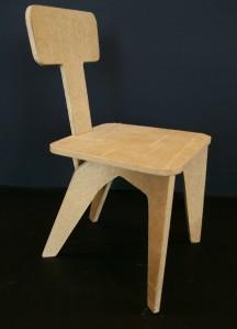 Cadeira Oswaldo Bratke (MDF)