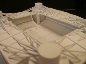 Estudo estrutural para um estádio