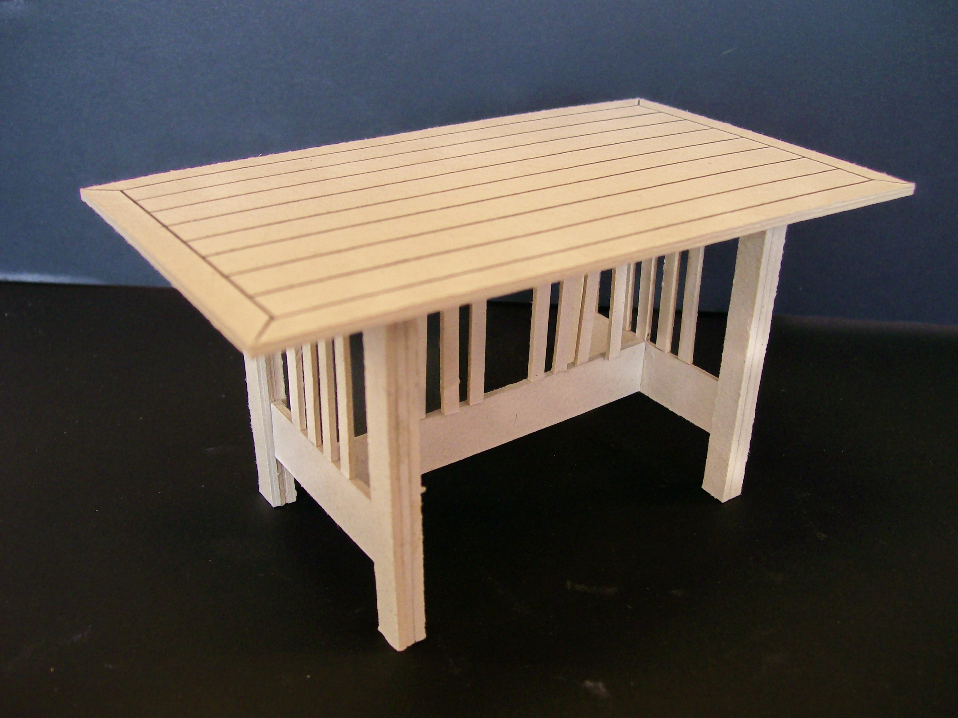 Miniaturas de mobiliário Maquetes Volumétricas #996B32 3072x2304