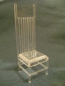 Cadeira Wright (acrilico)